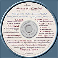 Música en la Catedral - CD Volumen 02
